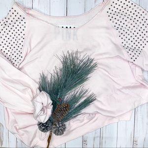 Victoria's Secret PINK Off the Shoulder sweatshirt